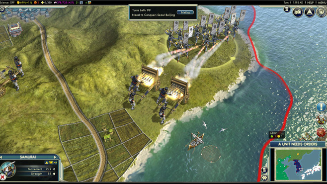 Sid Meier's Civilization V: Civilization and Scenario Pack - Korea Screenshot 3
