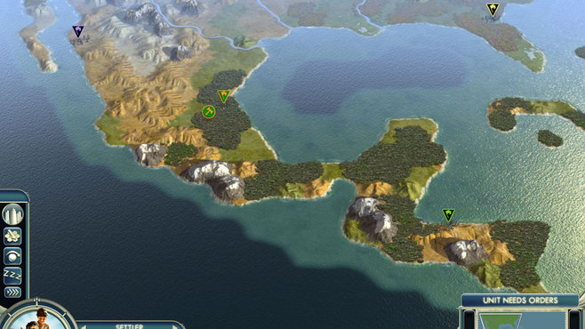 Sid Meier's Civilization V: Cradle of Civilization - Maps Bundle Screenshot 1