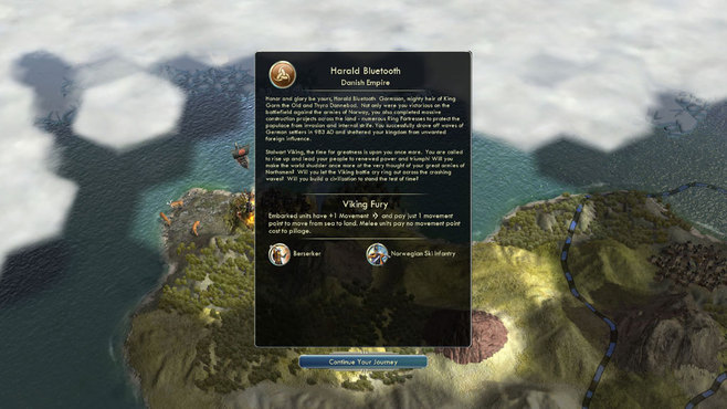Sid Meier's Civilization V: Denmark & The Vikings Screenshot 3