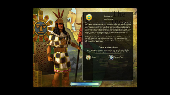 Sid Meier's Civilization V: Double Civilization and Scenario Pack - Spain and Inca Screenshot 6