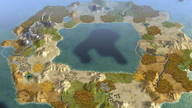 Sid Meier's Civilization V: Explorer's Map Pack Screenshot 1