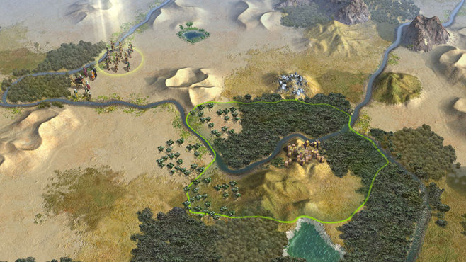 Sid Meier's Civilization V: Explorer's Map Pack Screenshot 2