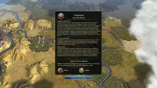Sid Meier's Civilization V: Scenario Pack – Wonders of the Ancient World Screenshot 4