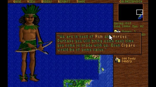 Sid Meier's Colonization Screenshot 3