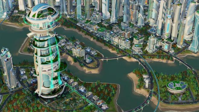 SimCity: Cities of Tomorrow Screenshot 2