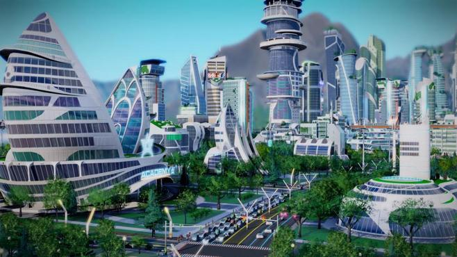 SimCity: Cities of Tomorrow Screenshot 4
