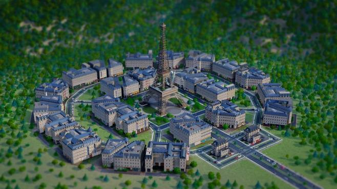 SimCity French City Set Screenshot 1