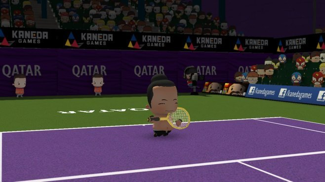 Smoots World Cup Tennis Screenshot 8