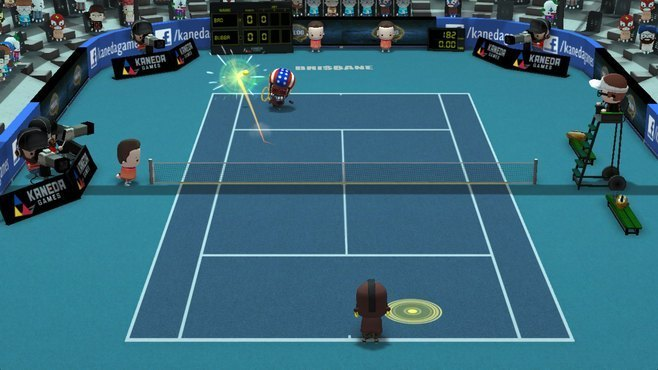Smoots World Cup Tennis Screenshot 9