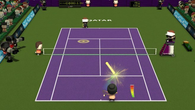 Smoots World Cup Tennis Screenshot 12