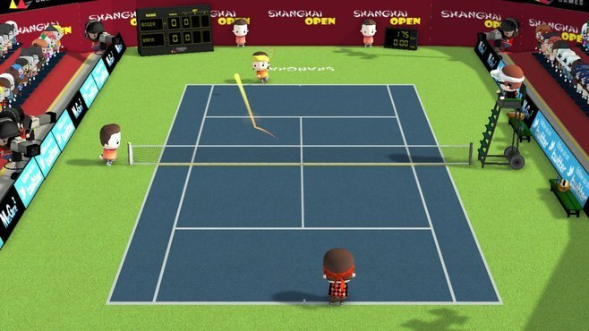 Smoots World Cup Tennis Screenshot 13