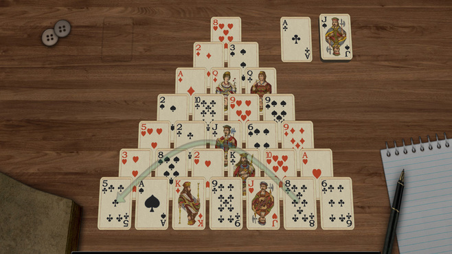 Solitaire 3D Screenshot 1