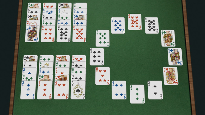 Solitaire 3D Screenshot 2