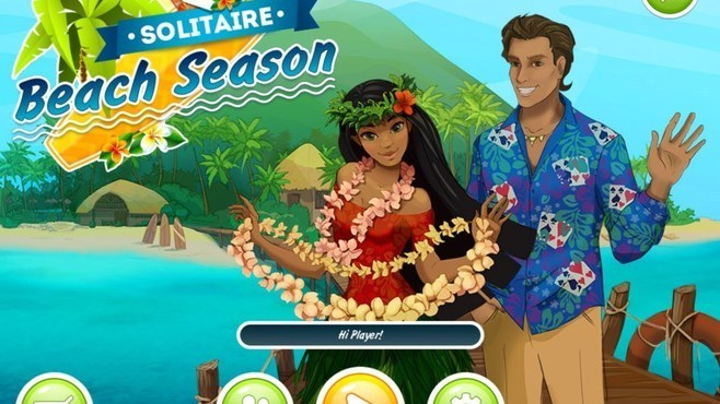 Solitaire Beach Season Screenshot 1