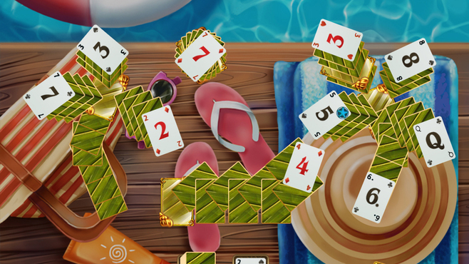 Solitaire Beach Season: Sounds of Waves Screenshot 2