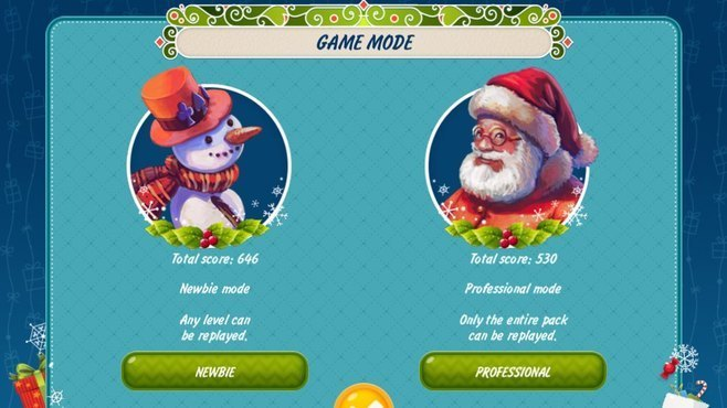 Solitaire Christmas Match 2 Cards Screenshot 2