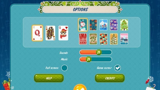 Solitaire Christmas Match 2 Cards Screenshot 3