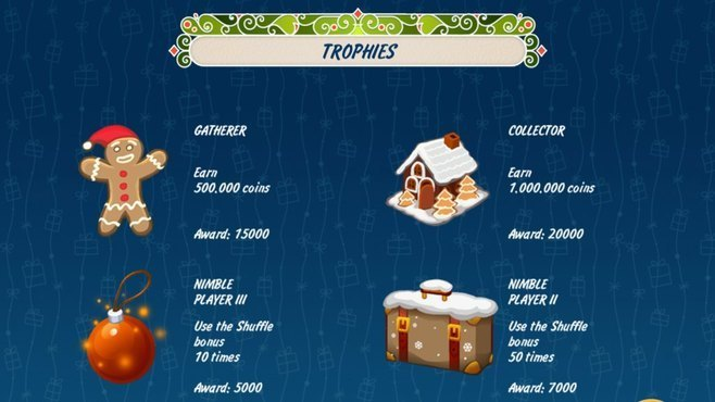 Solitaire Christmas Match 2 Cards Screenshot 4