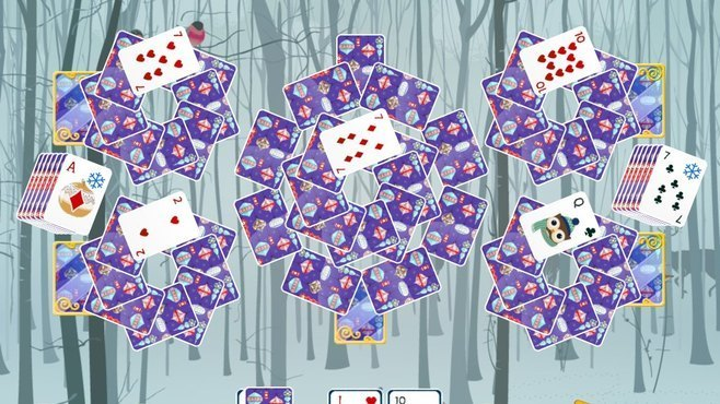 Solitaire Christmas Match 2 Cards Screenshot 5