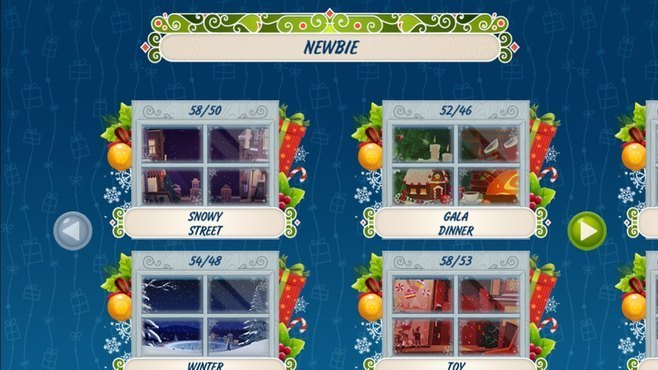 Solitaire Christmas Match 2 Cards Screenshot 6