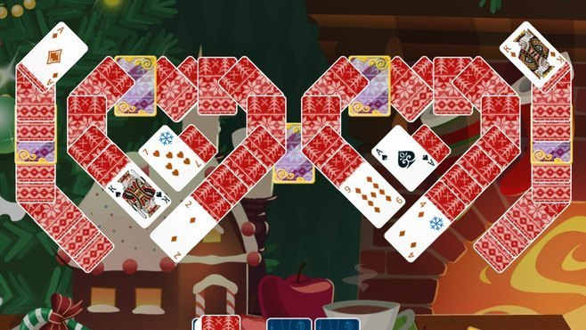 Solitaire Christmas Match 2 Cards Screenshot 7