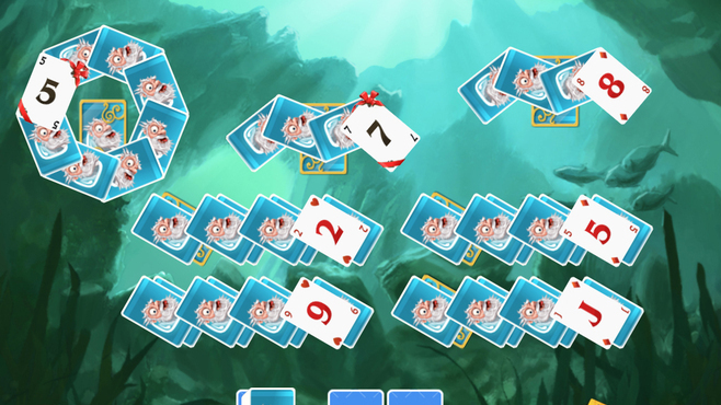 Solitaire Doodle God Screenshot 2