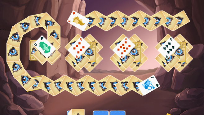Solitaire Doodle God Screenshot 4