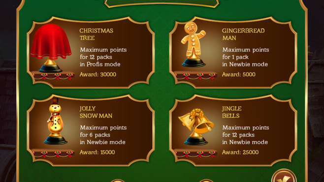 Solitaire Game Christmas Screenshot 2