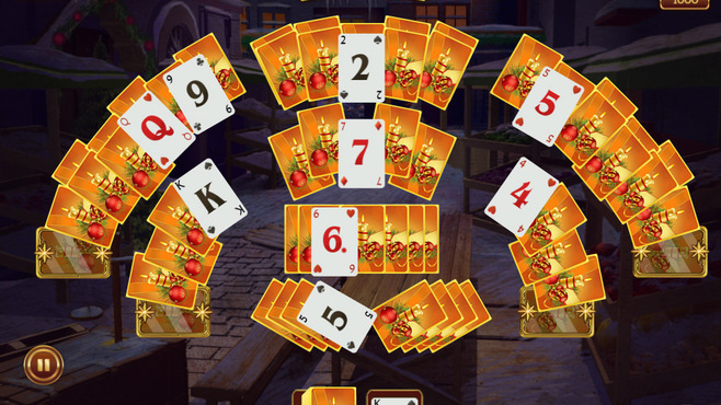 Solitaire Game Christmas Screenshot 3
