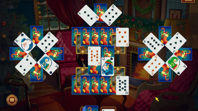 Solitaire Game Christmas Screenshot 4