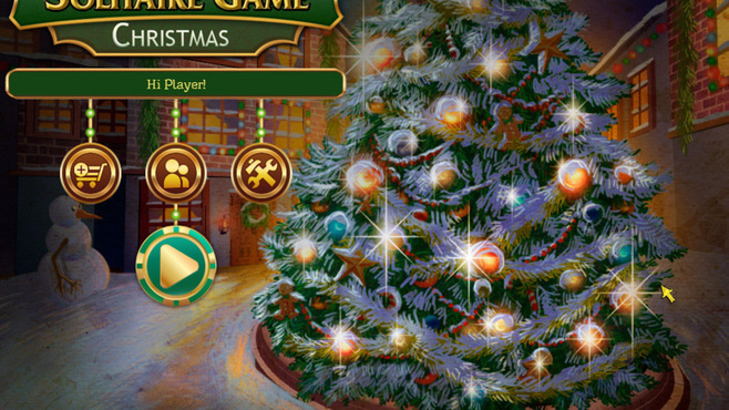 Solitaire Game Christmas Screenshot 5