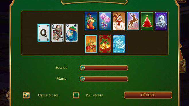 Solitaire Game Christmas Screenshot 6