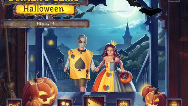 Solitaire Game Halloween 2 Screenshot 1