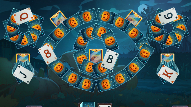 Solitaire Game Halloween 2 Screenshot 4