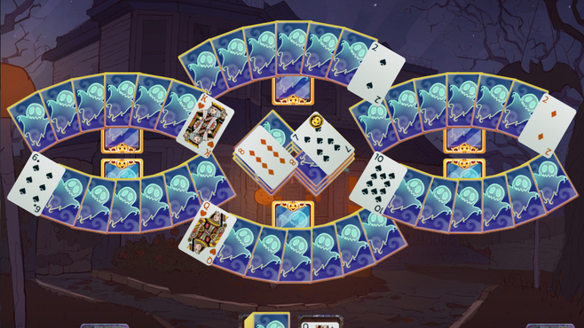 Solitaire Game Halloween 2 Screenshot 5