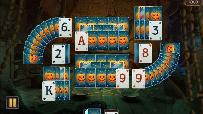 Solitaire Game Halloween Screenshot 3