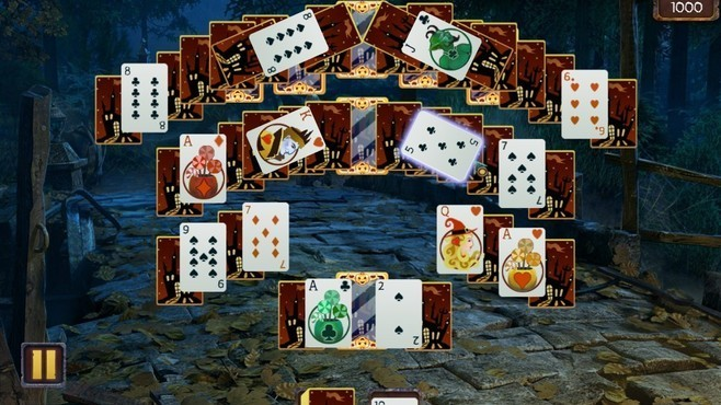 Solitaire Game Halloween Screenshot 4
