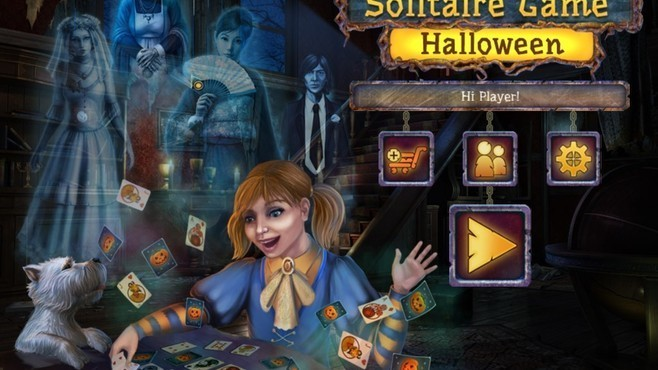 Solitaire Game Halloween Screenshot 6