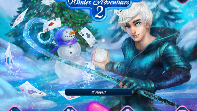 Solitaire Jack Frost Winter Adventures 2 Screenshot 1