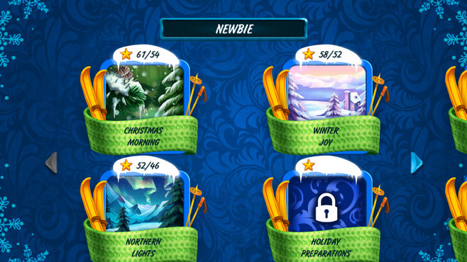 Solitaire Jack Frost Winter Adventures 2 Screenshot 5