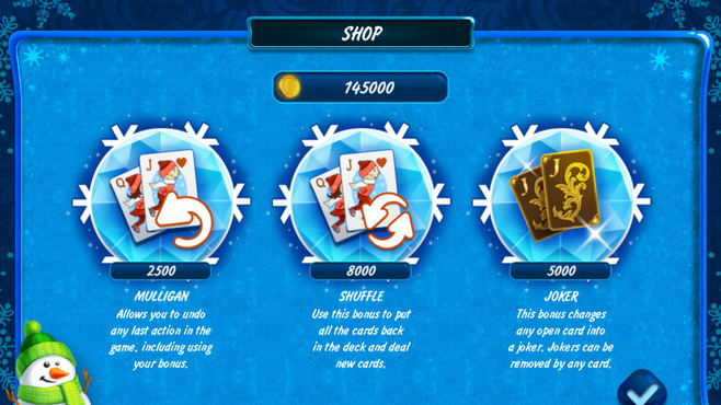 Solitaire Jack Frost Winter Adventures Screenshot 2
