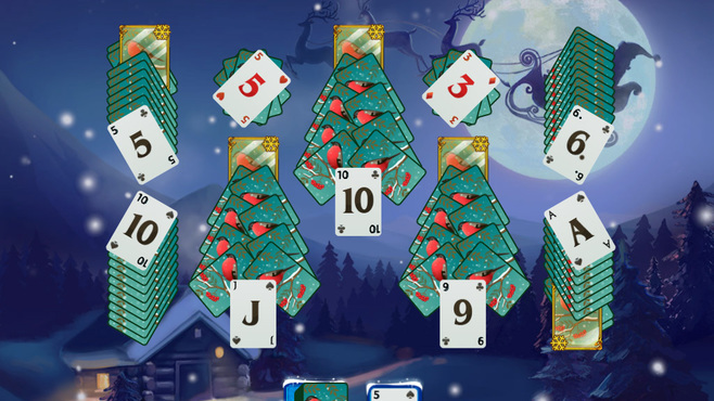 Solitaire Jack Frost Winter Adventures Screenshot 4