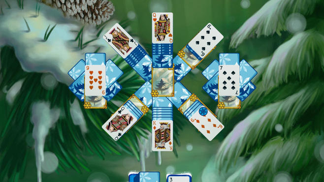 Solitaire Jack Frost Winter Adventures Screenshot 5