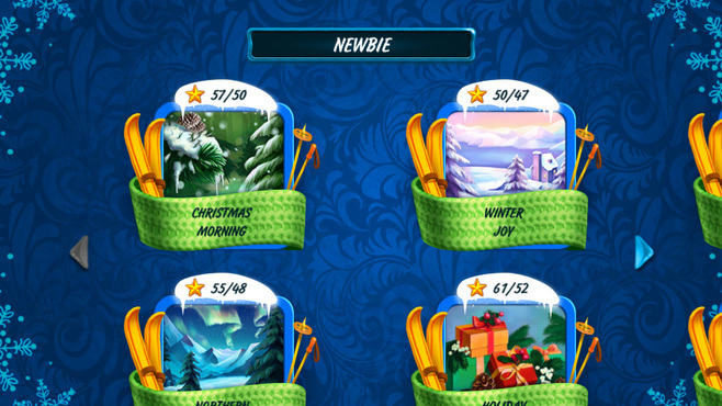 Solitaire Jack Frost Winter Adventures Screenshot 7