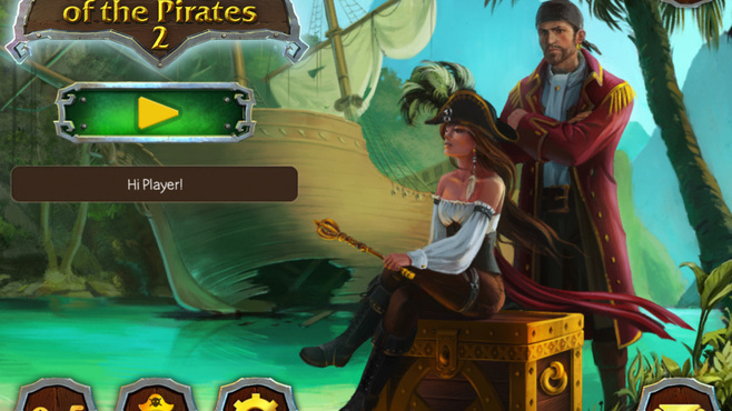 Solitaire Legend Of The Pirates 2 Screenshot 1