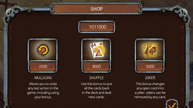 Solitaire Legend of the Pirates 3 Screenshot 6