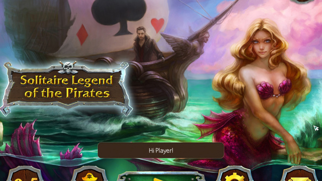 Solitaire Legend Of The Pirates Screenshot 1