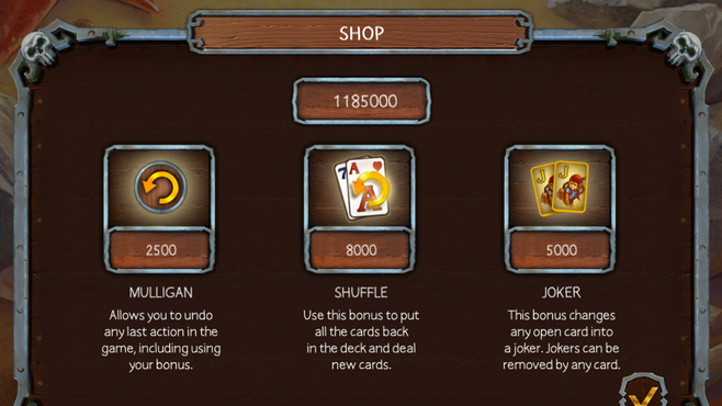 Solitaire Legend Of The Pirates Screenshot 2