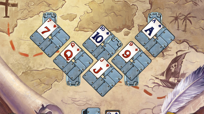 Solitaire Legend Of The Pirates Screenshot 4