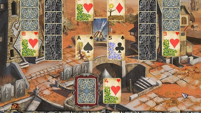 Solitaire Mystery: Four Seasons Screenshot 1